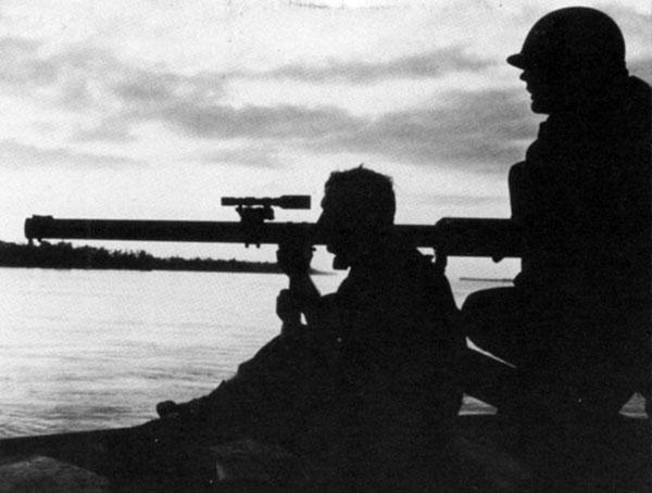 Datering över 50 år gamla gevär